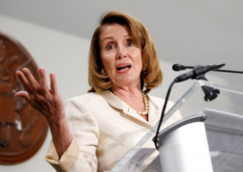 Pelosi is fending off calls from some House colleagues to step aside. (Paul Morigi/Getty Images)