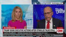 Trump's Economic Adviser Doesn't Understand Trump's COVID Relief Orders