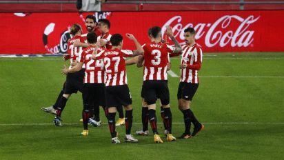 Doblete de Raúl García en la goleada del Athletic