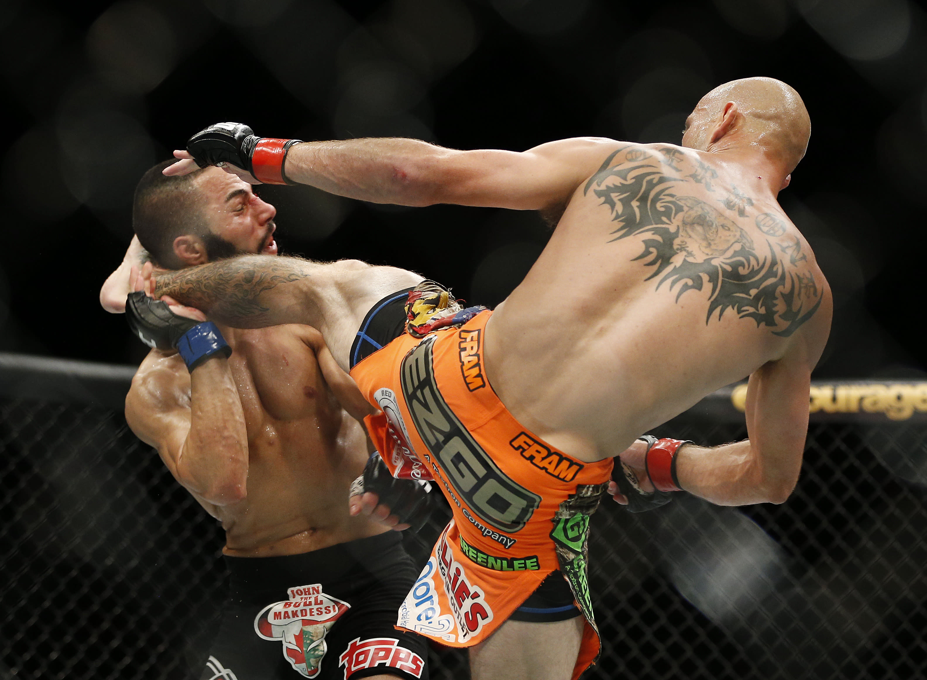 Horse Jaw Tattoo: Donald Cerrone Breaks John Makdessi's Jaw To Close In On