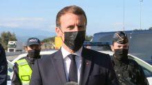 """Emmanuel Macron se dit """"favorable"""" à refonder Schengen """"en profondeur"""""""