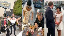 Elvis, fast-food e anel de R$ 28 mil: o casamento dos sonhos de Lily Allen e David Harbour