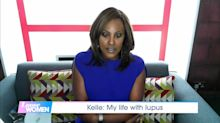 Kelle Bryan chokes back tears as she discusses lupus struggle on 'Loose Women'
