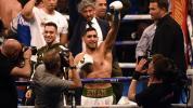 Returning Khan knocks out opponent inside 40 seconds