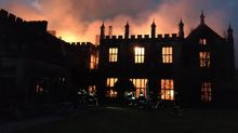Historic Dorset mansion ravaged by flames in suspected arson