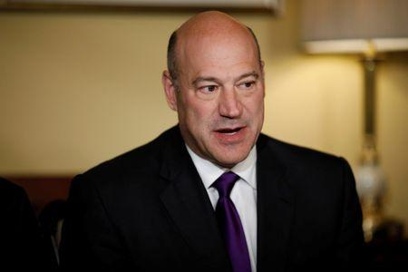 FILE PHOTO - Director of the National Economic Council Gary Cohn speaks during an event to introduce the Republican tax reform plan at the U.S. Capitol in Washington, U.S., November 9, 2017. REUTERS/Aaron P. Bernstein