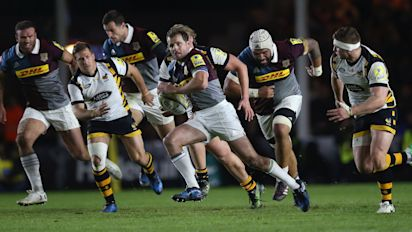 Rugby Union: Evergreen Evans signs off from The Stoop in style