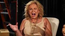 Roseanne Barr screams in bizarre interview