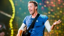 Coldplay's Chris Martin 'happy to be a human punchbag'