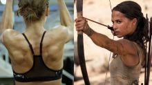 Con esta dieta y entrenamiento Alicia Vikander cambió su cuerpo para ser Lara Croft