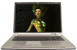 WidowPC offers up Core 2 Duo-powered Sting 517D gaming laptop