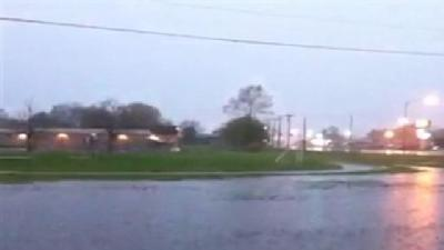 Watch: Heavy Rains Flood School Fields, Playground