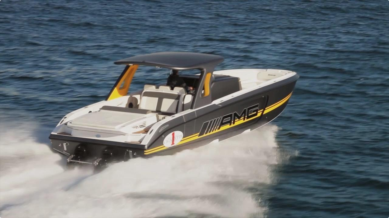 Hitting Top Speed In A 2 200 Hp Cigarette Amg Boat Video