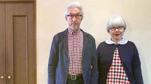 係愛啊!日本老人夫妻穿搭,時尚銀髮BonPon情侶造型示範