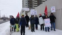 Rent hike tension spills over at Carling Avenue highrise