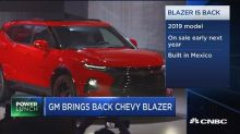 General Motors to manufacture new Chevy Blazer in Mexico