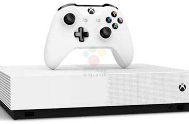 Leak shows Microsoft's 'All Digital' Xbox One S