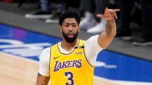 Anthony Davis returns from injury as Los Angeles Lakers fall to Dallas Mavericks