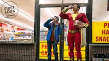 Shazam! reveals Zachary Levi's costume in first official photo