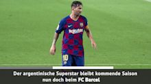 Breaking News: Messi bleibt bei Barca!