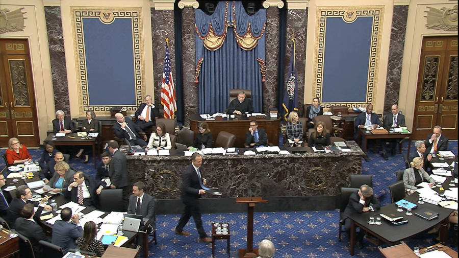Dems' final day of arguments in impeachment trial
