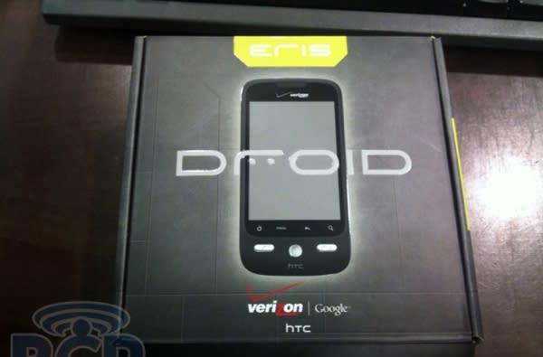 HTC DROID Eris unboxed and examined: 'feels much better' than Sprint Hero