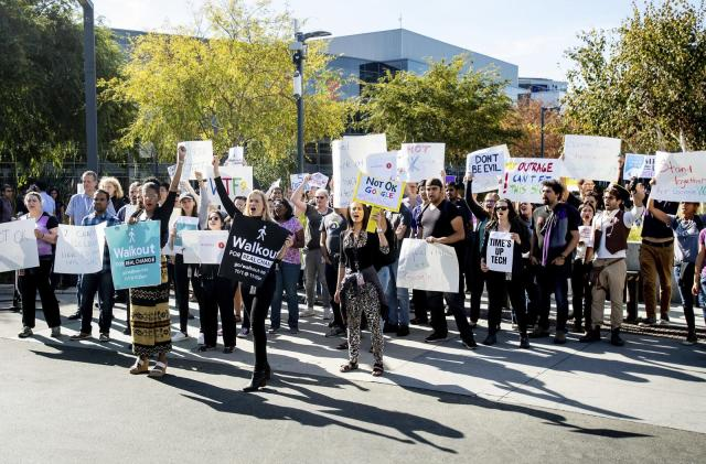Google Walkout leaders accuse company of retaliation culture