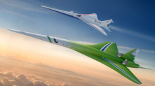 Futuristic quiet supersonic jet could fly London-Tokyo in seven hours