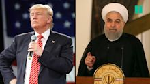 """Trump To Iranian President Rouhani : """"Be Cautious"""""""