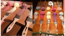 【旅行Chill住食】日本大阪人氣餐廳的「油畫刷具雪糕盤」掀話題,成為日本必食打卡item!