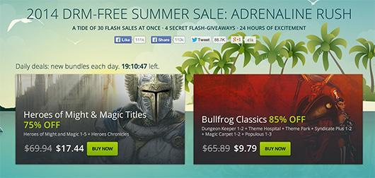 Be quick or you'll miss GOG.com's Adrenaline Rush sale