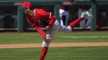 Angels starter Griffin Canning experiences extreme highs and lows in two-inning stint