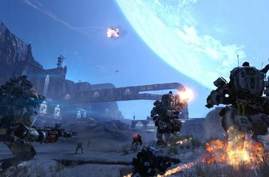 Titanfall Sand Trap map rounds out IMC Rising DLC