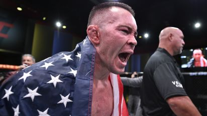 Covington calls out Biden, LeBron after win
