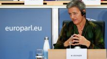 EU's Vestager says breaking up companies is last option