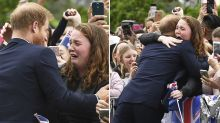 What Prince Harry told crying Australian teen before breaking royal protocol