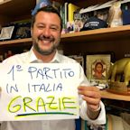 Matteo Salvini triumphs in European elections, taking nearly 35 per cent of Italian vote