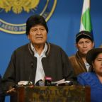 Bolivian president Evo Morales resigns after fierce election backlash