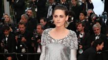 Kristen Stewart protests Cannes Film Festival ban on flat shoes by taking off heels