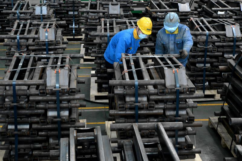 China's factory output beats forecasts as Asia shakes off COVID slump