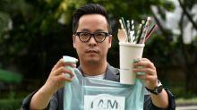¿Tomarías una bebida hecha con una bolsa plástica?