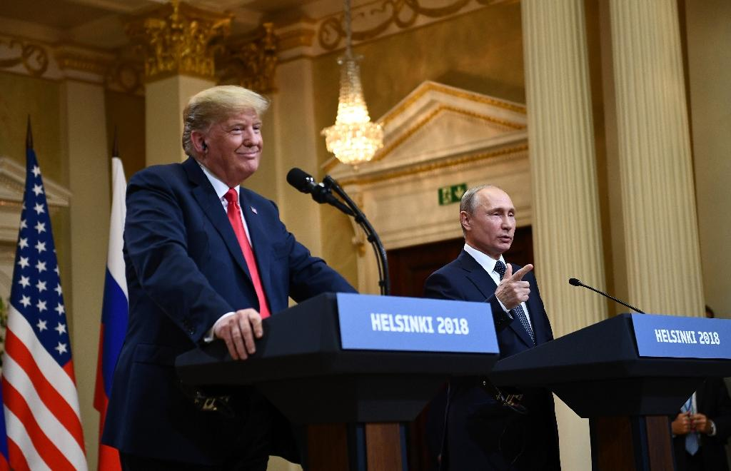President Donald Trump stunned US political allies and foes with his refusal to confront Vladimir Putin over meddling in the US election