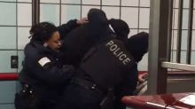 Chicago police drop resisting arrest charges against man shot by officers in transit station