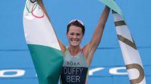 Oympics-Triathlon-Duffy wins women's gold for Bermuda