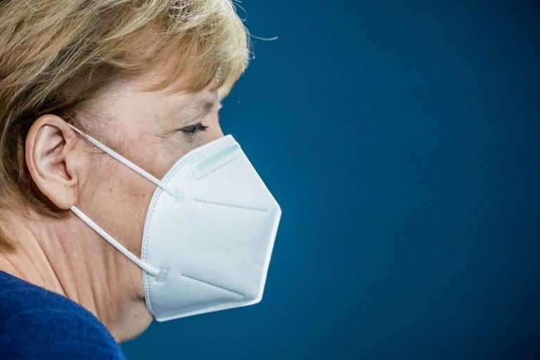 Sparing no words for Trump, Merkel vows cooperation with Biden