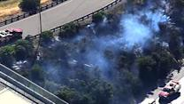 Warm Bay Area weather sparks multiple fires