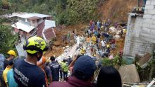 Mudslide kills 12 people in central Colombia