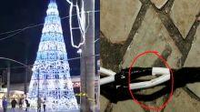 Menina de oito anos morre eletrocutada ao tocar em decoração de Natal em Goiás