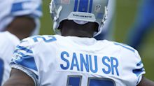 Detroit Lions protect 3 practice squad players in Week 12: Mohamad Sanu, Dee Virgin, and Albert Huggins