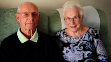 'Britain's oldest newlyweds' wait 70 years for their honeymoon - but it ends back where itstarted after 13 hours on a plane